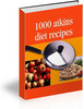 Thumbnail 1000 Atkins Diet Recipes - Download Recipes/Manuals