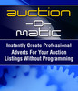 Thumbnail Auction-O-Matic Auction Software - Automatically Create Auct