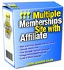 Thumbnail Multiple Memberships Site With Affiliate - Download PHP