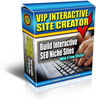 VIP Interactive Site Creator - MASTER RESALE RIGHTS
