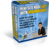 Thumbnail *New* Minisite Made Easy with Dreamweaver Video Tutorials