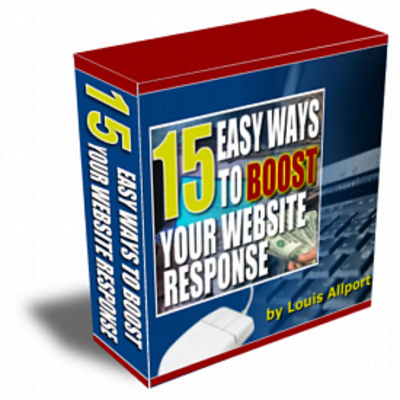 Product picture 15 Easy Ways To Boost Your Website Response: - Download Vide