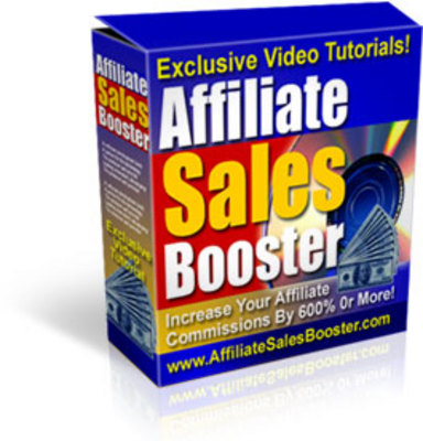 Product picture Affiliate Sales Booster  - MASTER RESALE RIGHTS