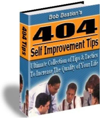 Product picture 404 Self Improvement Tips - Download Educational