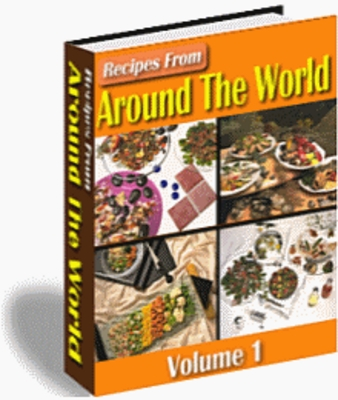 Product picture Recipes from Around the World Volume 1 - Download Recipes/Ma