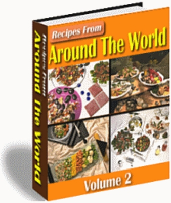 Product picture Recipes from Around the World Volume 2 - Download Recipes/Ma