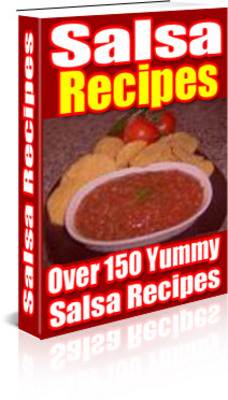 Product picture SALSA RECIPES EBOOK RESELL - Download Recipes/Manuals