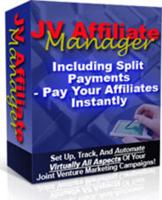 Product picture JV Affiliate Manager With Master Resell Rights