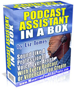 Product picture Podcast Assistant In A Box ! - Download Internet/Network