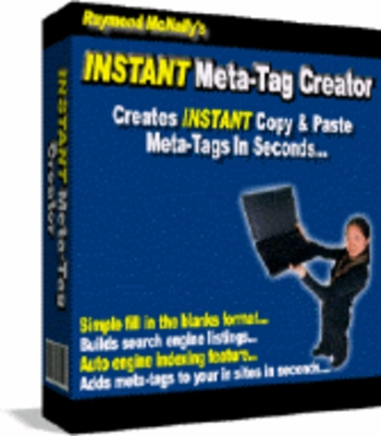 Product picture INSTANT Meta-Tag Creator MRR! - Download Business