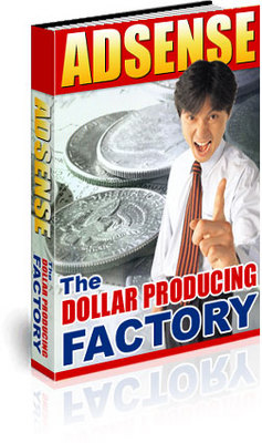 Product picture *NEW* - Adsense : The Dollar Producing Factory - MASTER RESA
