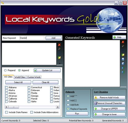 Product picture Local Keywords Gold - Download Business