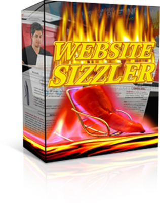 Product picture *NEW!*  Website Sizzler - Quickly Develop Content Rich Websi