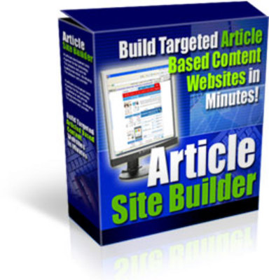 Product picture Article Site Builder. - Download PHP