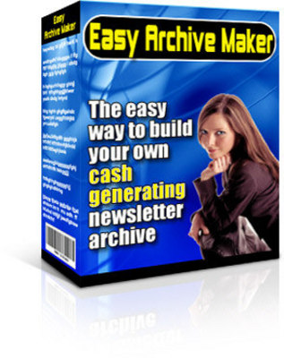 Product picture Easy Archive Maker with MRR - Download Internet/Network