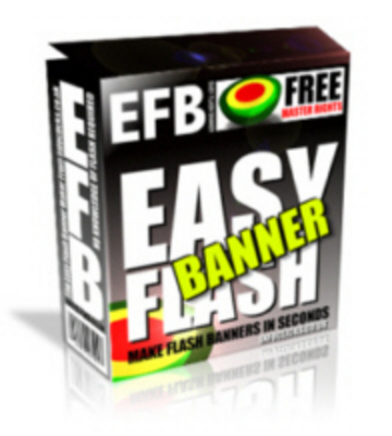 Product picture Easy Flash Banner Maker ! - Download Internet/Network