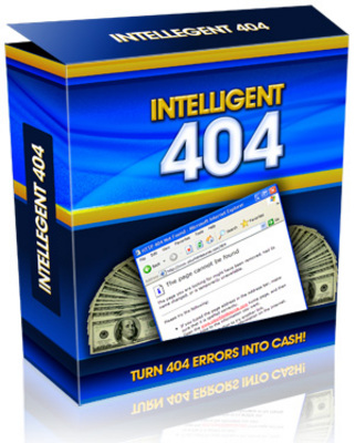 Product picture *NEW!* Intelligent 404 Software - MASTER RESALE RIGHTS