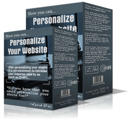 Product picture Personalize Your Website - Download Javascript